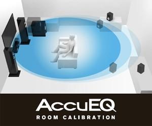 AccuEQで自動キャリブレーション